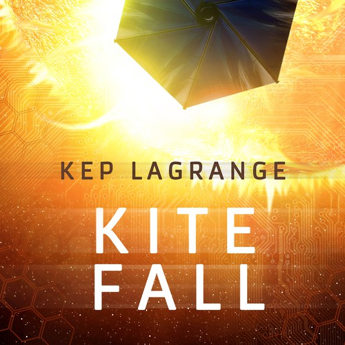 Kite Fall book cover design