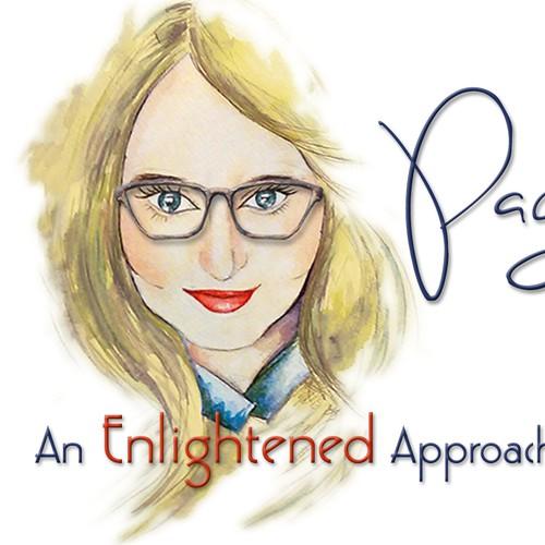 Logo & Banner Design Incorporating Portrait of Client