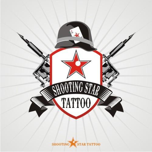 Shooting Star Tattoo needs a new logo