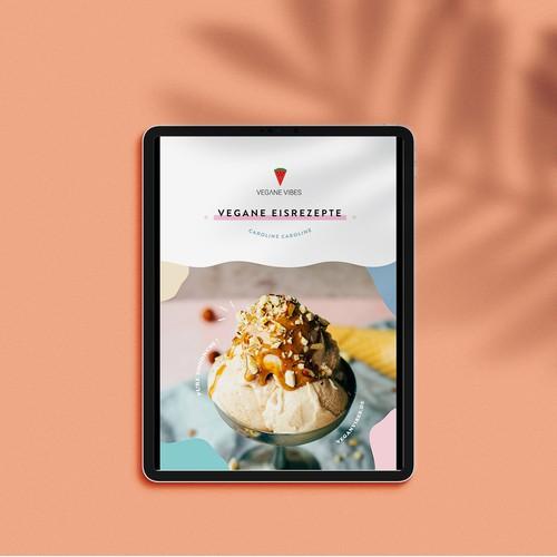 Digital Fun Vegan Ice Cream Recipe Book