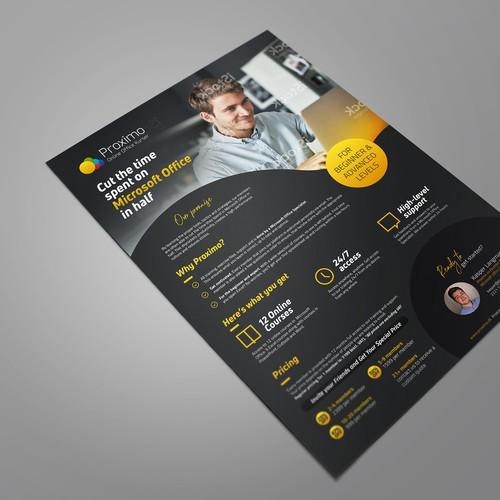 B2B Sales Flyer