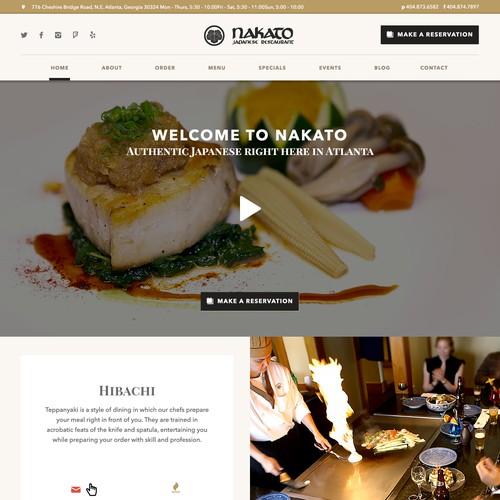Restaurante Webdesign