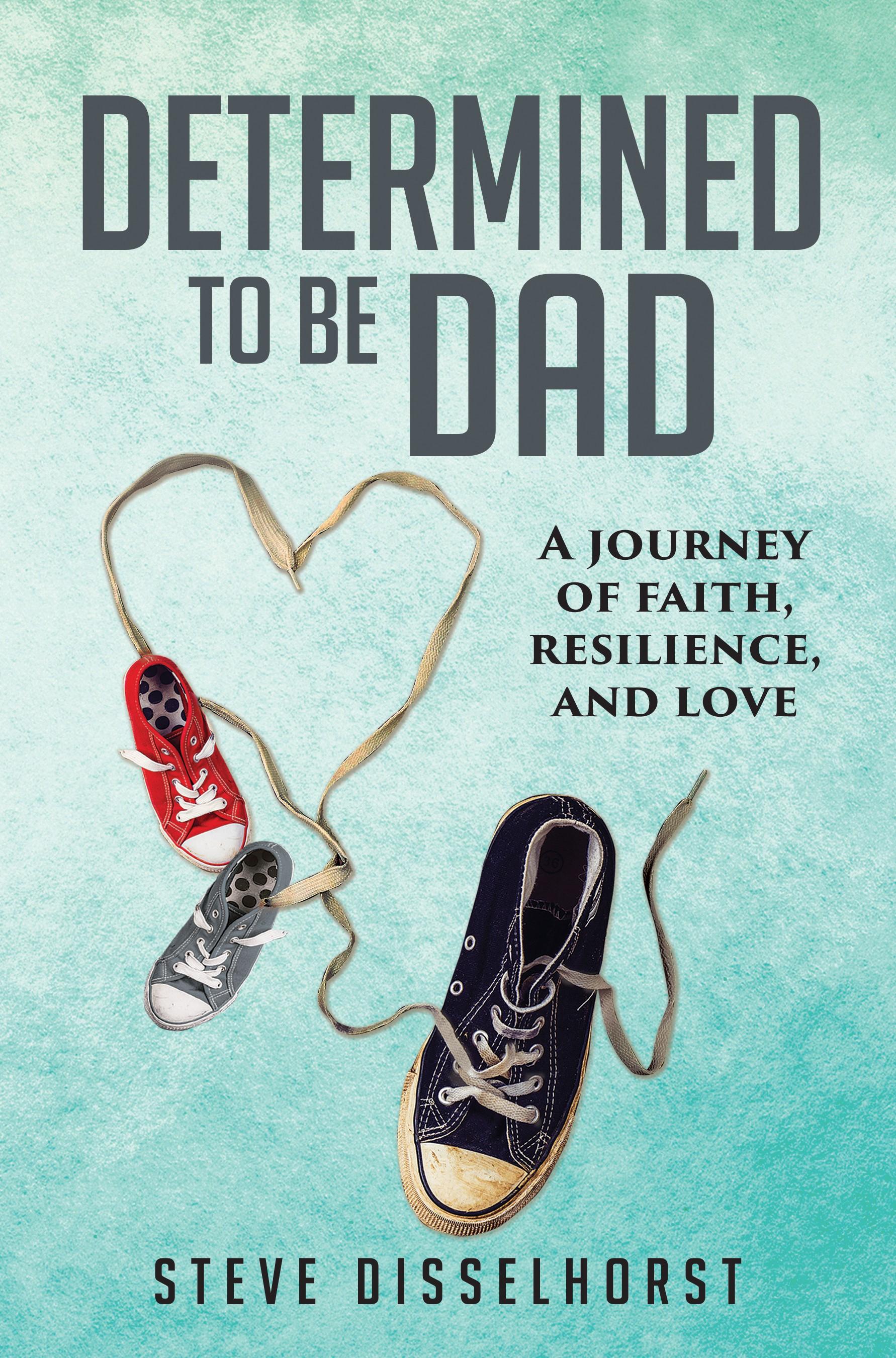 Design a book cover for a memoir about a man's lifelong dream to become a dad