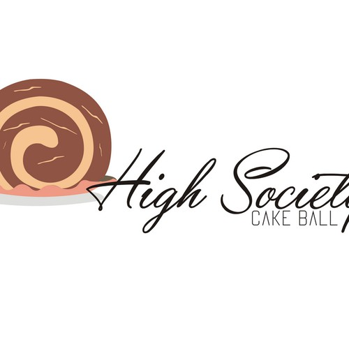 Create a high end, sophisticated yet simple, logo for a medical marijuana boutique cake ball