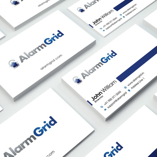 Alarm Grid Business Card