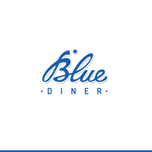 A logo for an upscale 24-hour or late night diner appealing to young professionals.