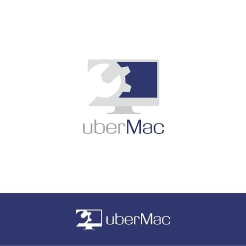 coastal ubermac computer logo