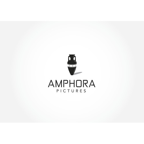 Create a modern film production company logo with a classical name