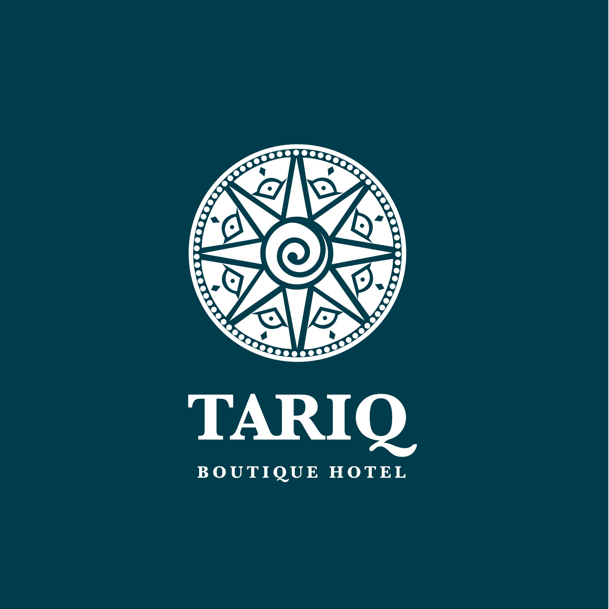 Design an artfull logo for an Art Boutique Hotel in Cusco Peru - mix comtemporary with ancient Inka