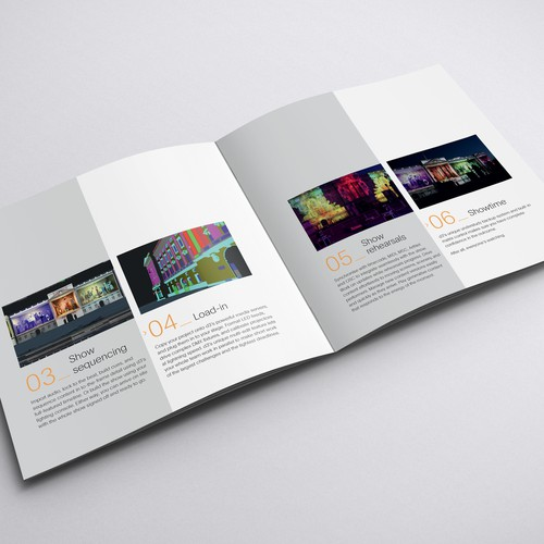 Brochure Design for a Tech Brand