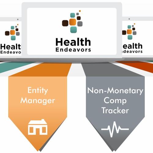 Health Endeavors Website Illustration for Scroll