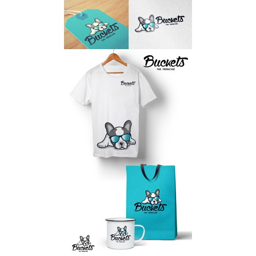 Logo for Buckets The Frenchie