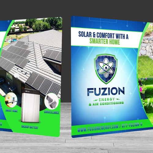 Tradeshow Banner for Fuzion Energy & Air Coditioning