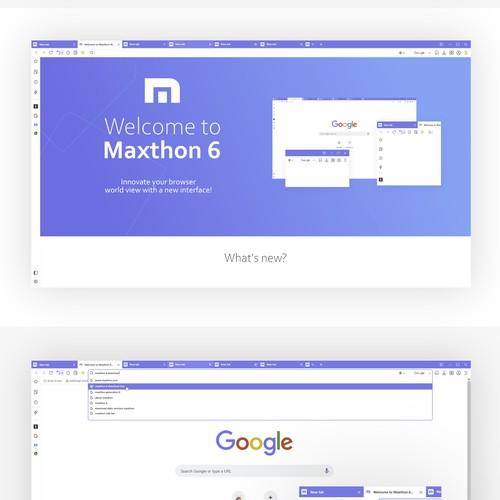 Web Browser UI For Windows OS
