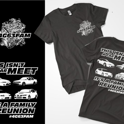 Car Enthusiast T-Shirt Contest.  Get fun, creative and expect great communication from me.