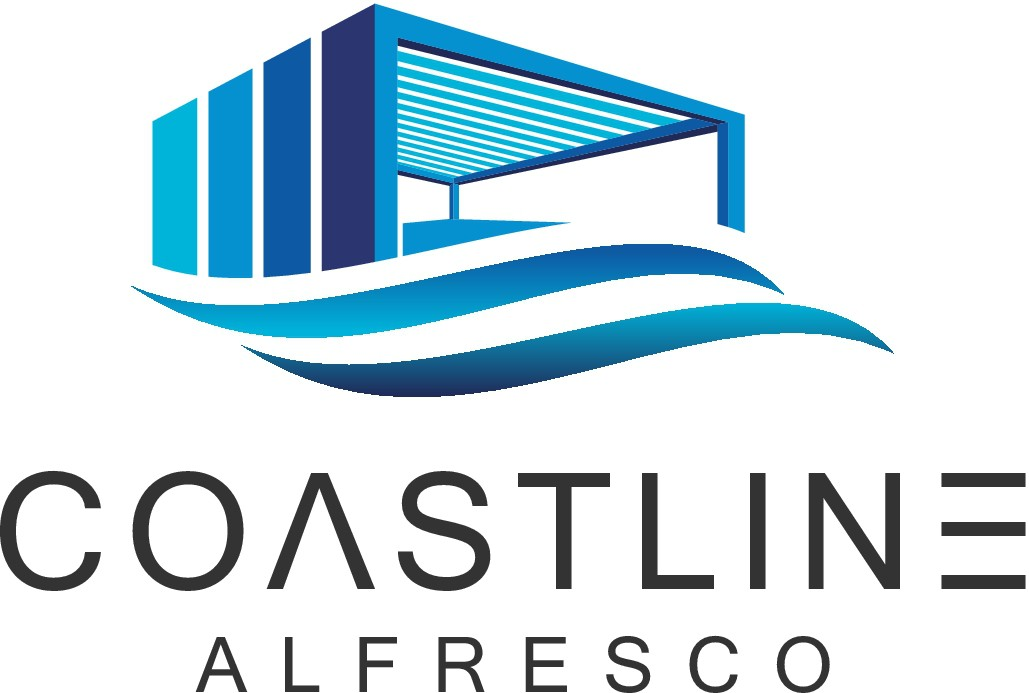 Design a architectural outdoors living logo for coastal lifestyles