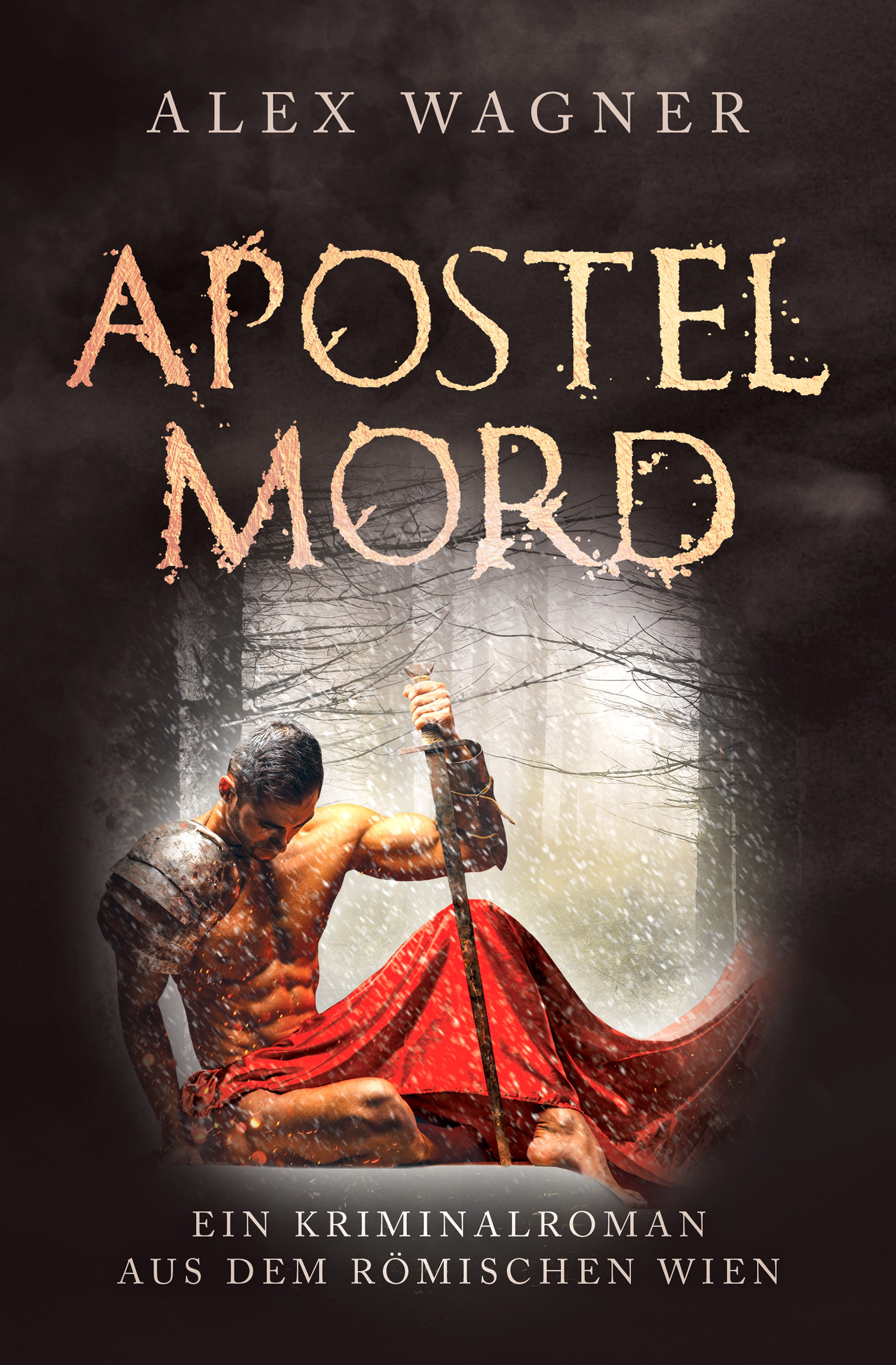 """Apostelmord"" (Thanar´s 2nd case) - ebook and pocketbook cover"