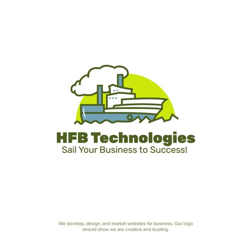 Logo concept for HFB Technologies