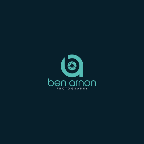 Bold Logo concept for Ben Arnon Photography
