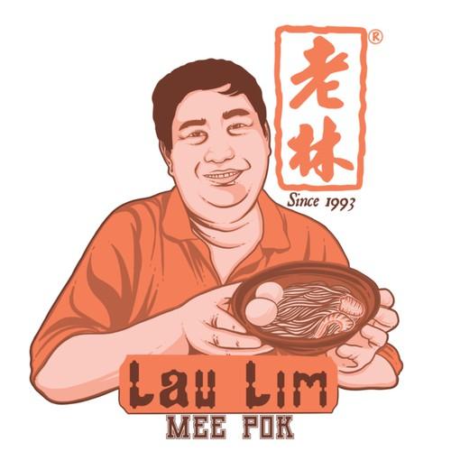 Design logo for LauLim MeePok