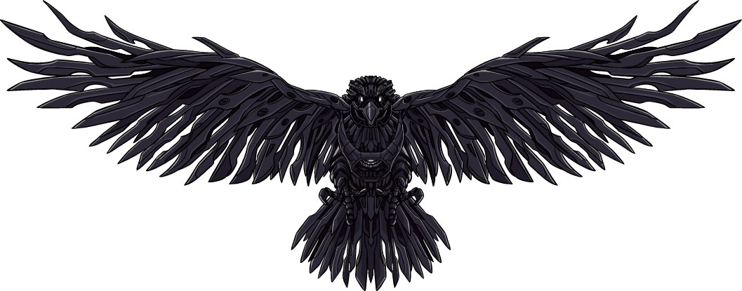 Additional Mechanical Raven Drawings