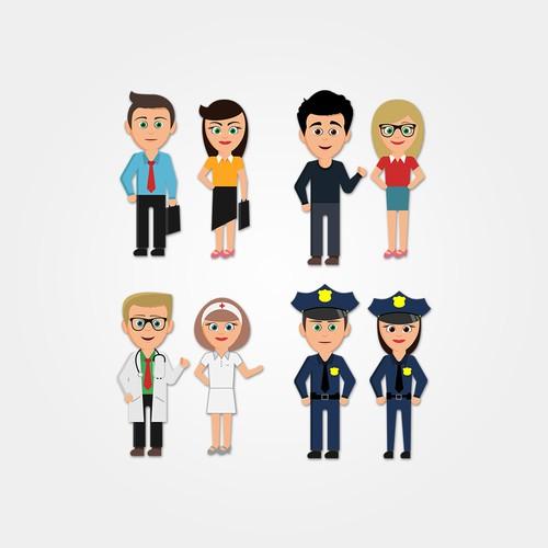 Social characters