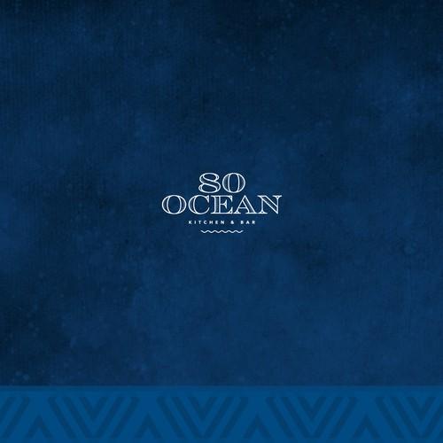 Logo Design for 80 Ocean