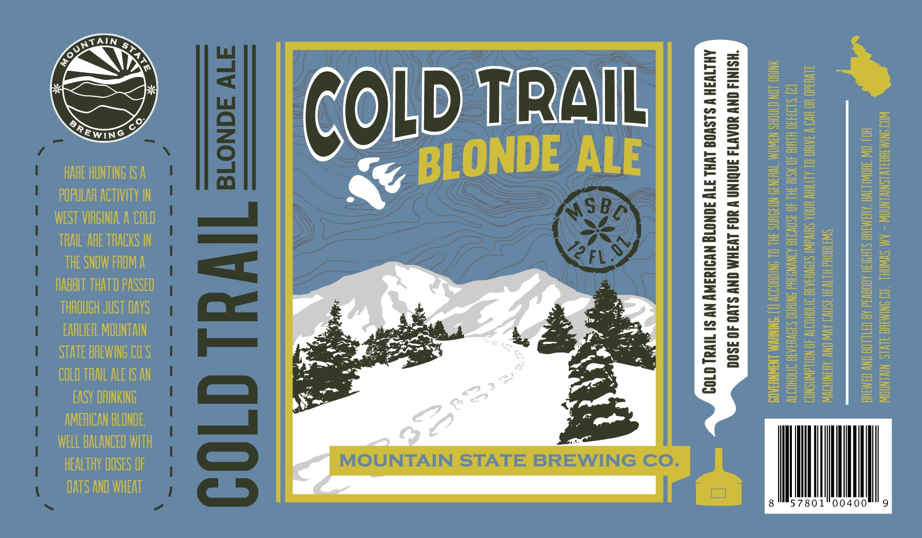 New CRAFT BEER LABEL wanted for MOUNTAIN STATE BREWING CO.