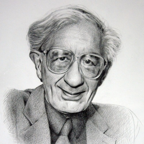 Caricature of a retired professor