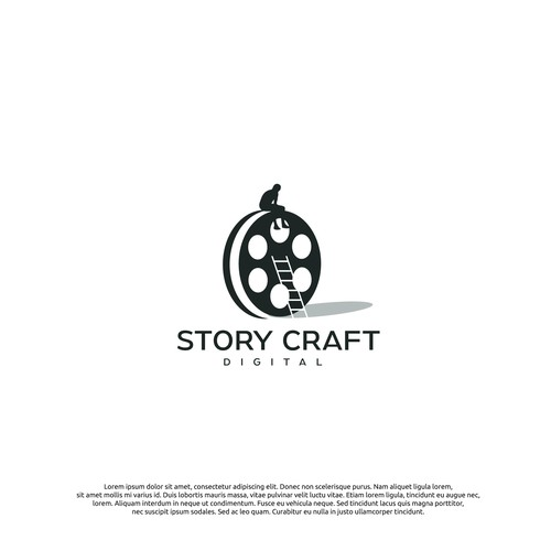 logo concept for story craft