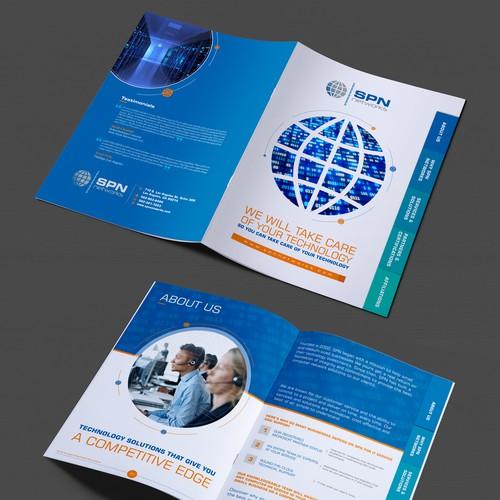 Create a fun, dynamic tabbed brochure!