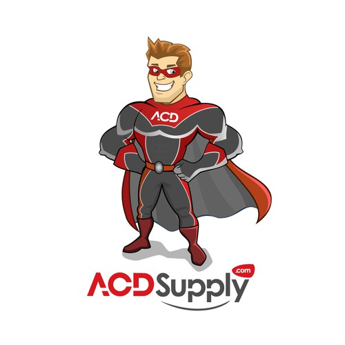 ACD Supply mascot character