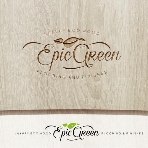 Luxury Eco wood flooring and finishes logo