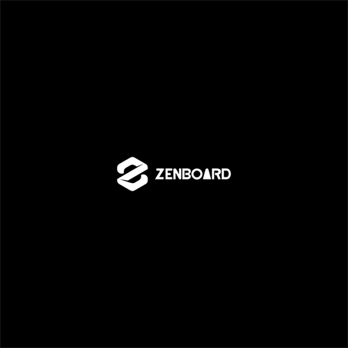 Design an elegant logo for Zenboard, a light electric vehicle.