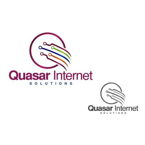 Logo for Internet service