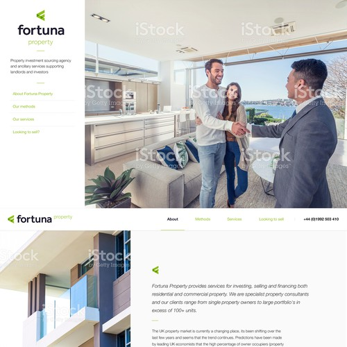 Property Consultant Website
