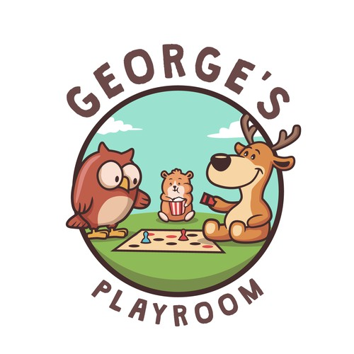George s Playroom logo