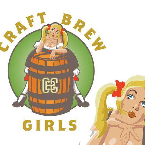 vintage pinup beer