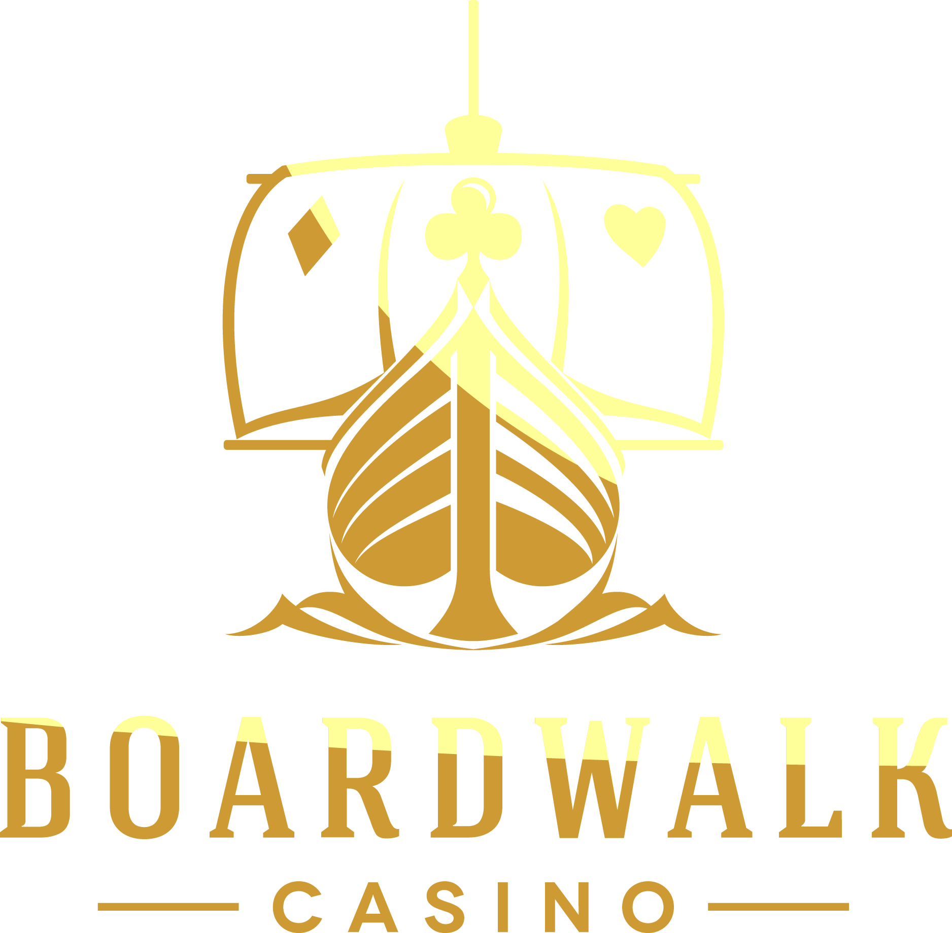 Boardwalk Casino in the Caribbean needs a new, powerful, and bold logo