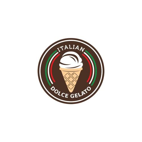 Bold authentic Gelato logo