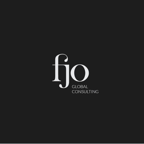 Classy Typography for Consulting