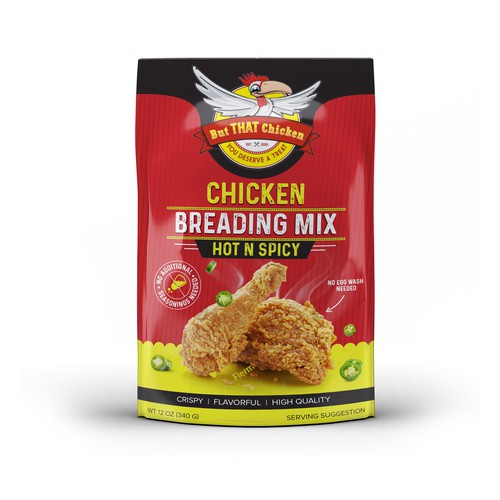 Chicken Breading Mix Packaging
