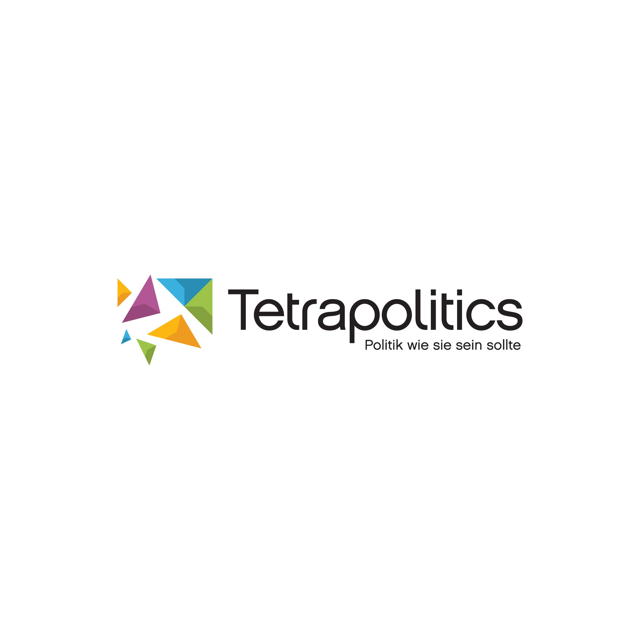 Logo for startup that makes political mobile apps