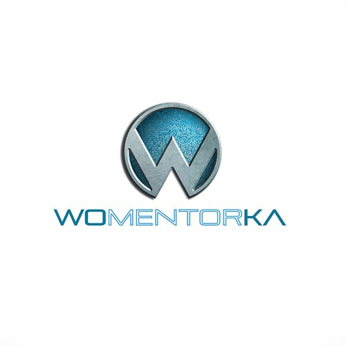 Create powerful logo for my new youtube/website-WOMENTORKA