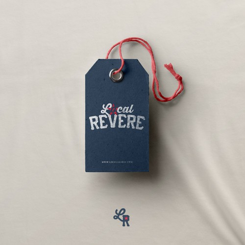 Local Revere Logo Design