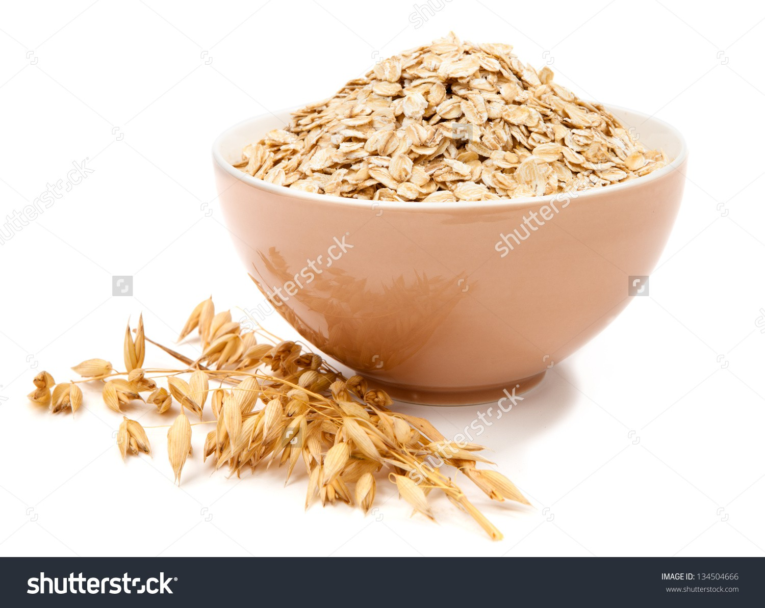 Design for organic semolina and oat flakes