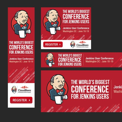 Create Web Banners Ads for User Conference