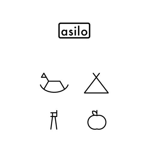 Modern and Minimal logo for Kids Furniture