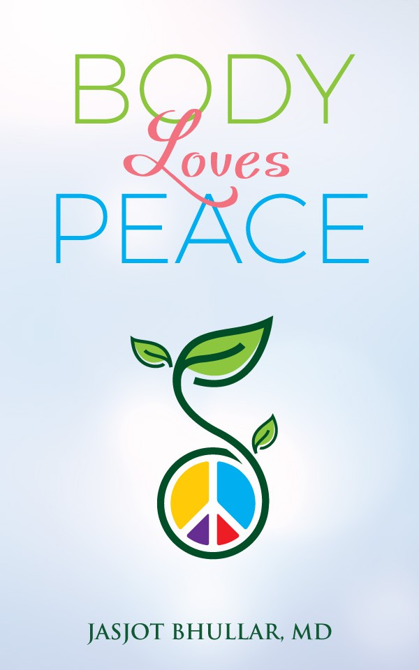 logo depicting somehow.. peaceful body = health and well being