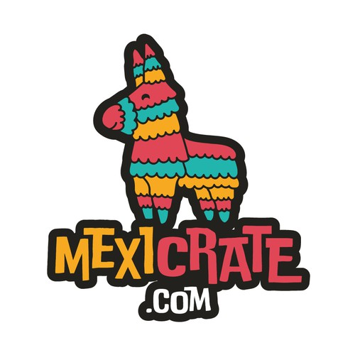 Logo for Mexican candy subscription box